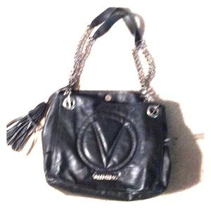 VALENTINO Gorgeous black leather bag!